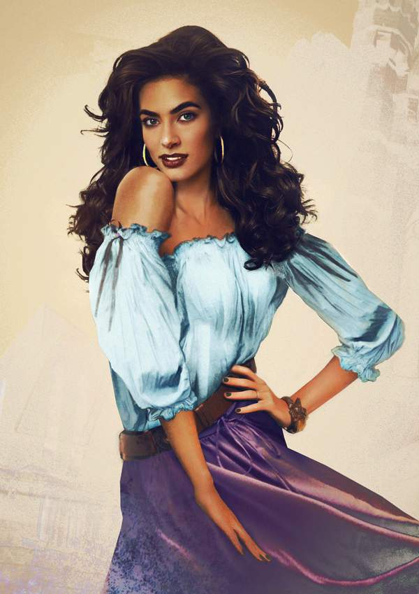 Esmeralda Disney Interpretation