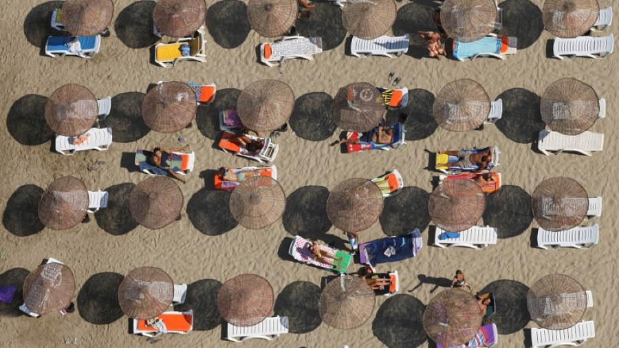 Drone Photography Beach