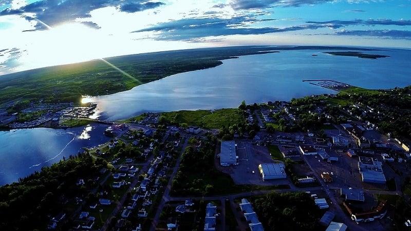 Drone Photography Awards New Brunswick
