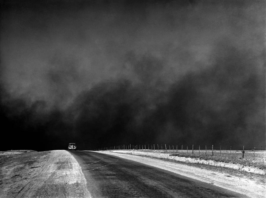 Dust Bowl Car Road