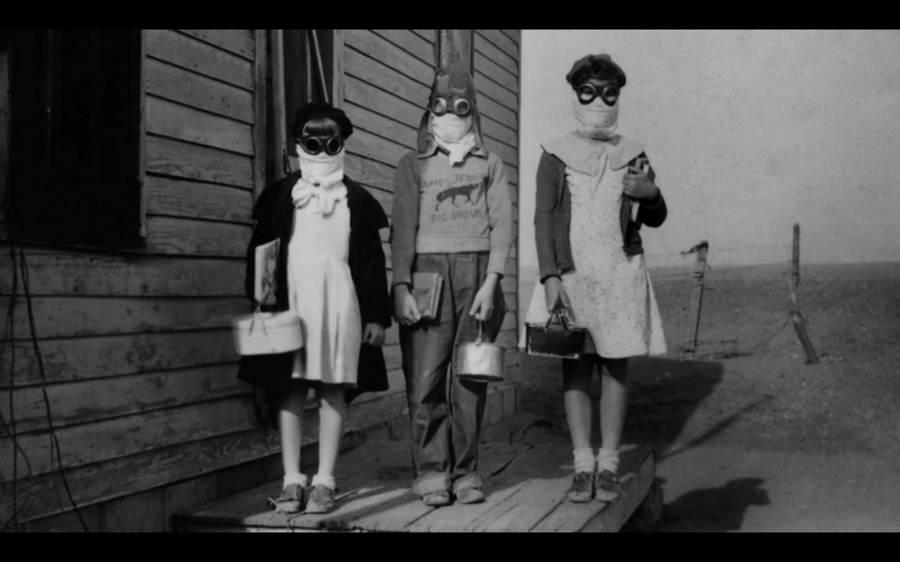 Dust Bowl Kids Ready For School