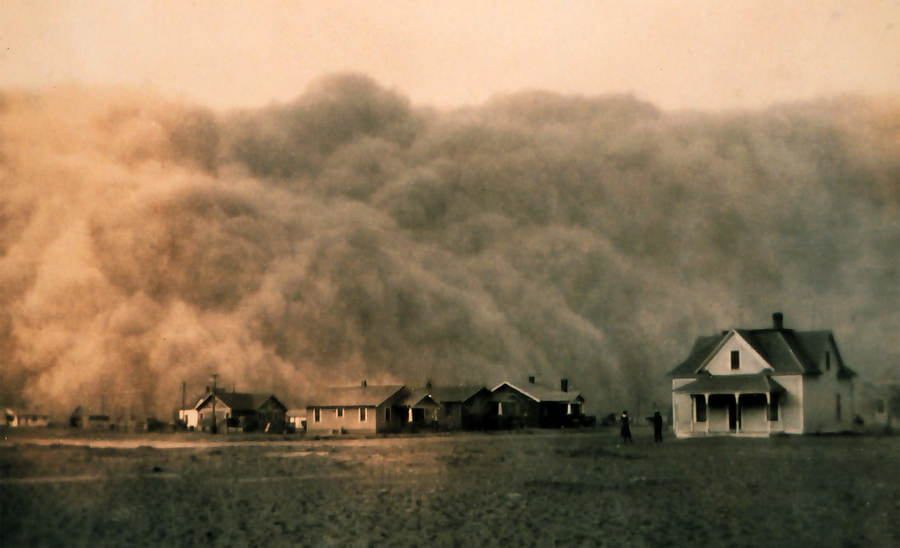 Dust Bowl Texas 1935