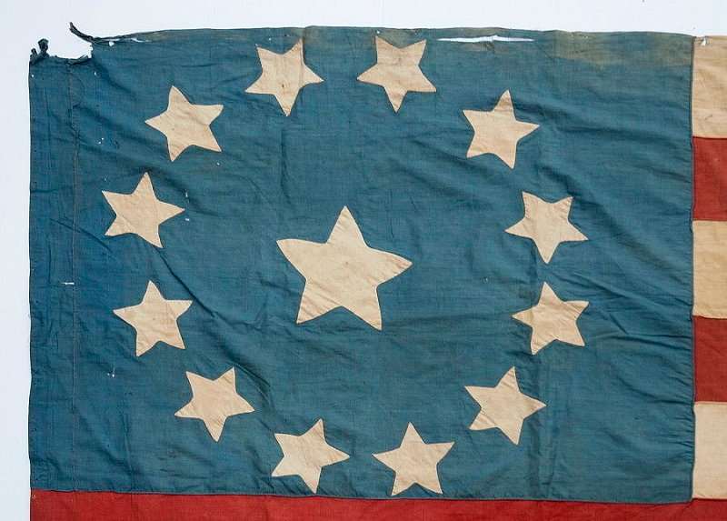 The evolution of the american flag throughout history 13 star american flag publicscrutiny Image collections