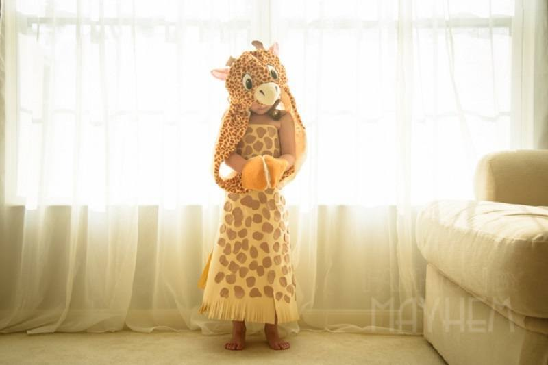 Mayhem Designs Giraffe Dress