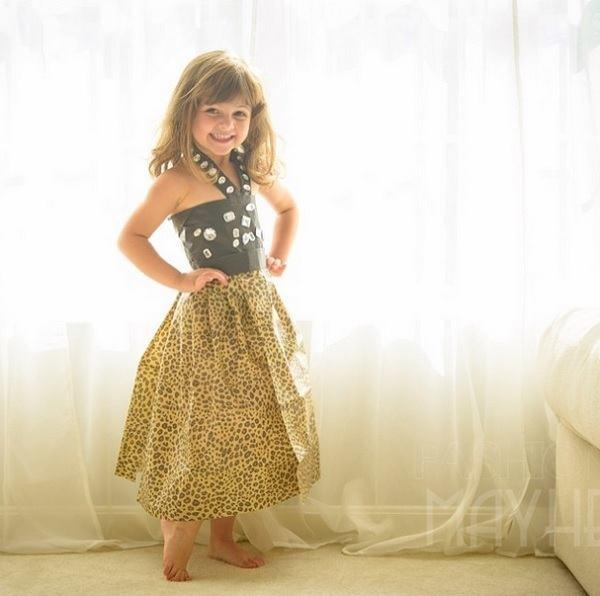 Leopard Dress Designed by Mayhem