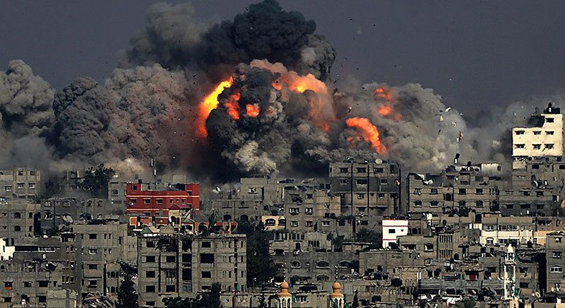 Airstrikes on Gaza Continue