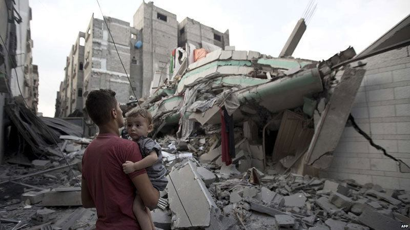Baby in Israel-Gaza Bombing