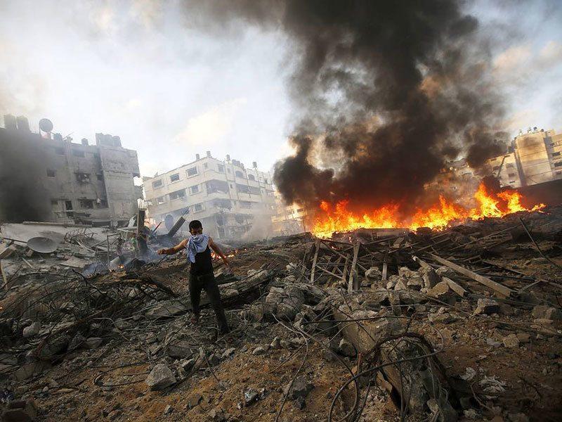 Bombing is Israel-Gaza Crisis