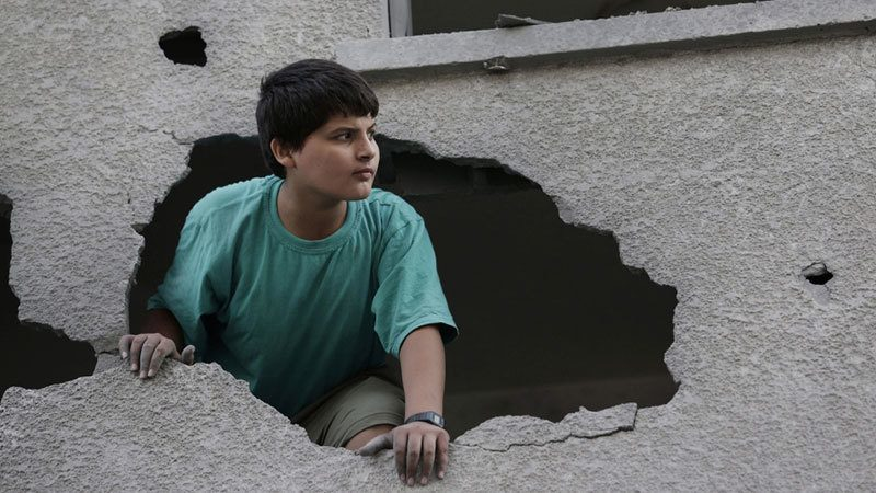 Israel-Gaza Conflict Shocks Boy