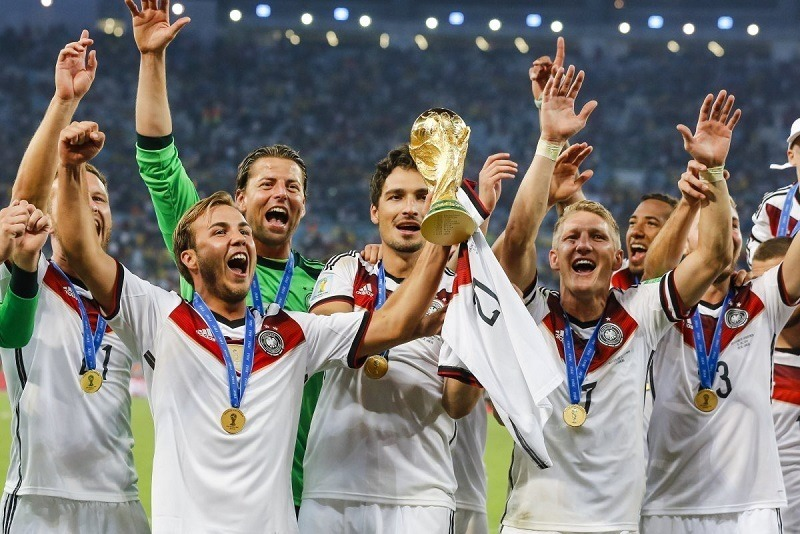 July in Photos Germany Wins World Cup