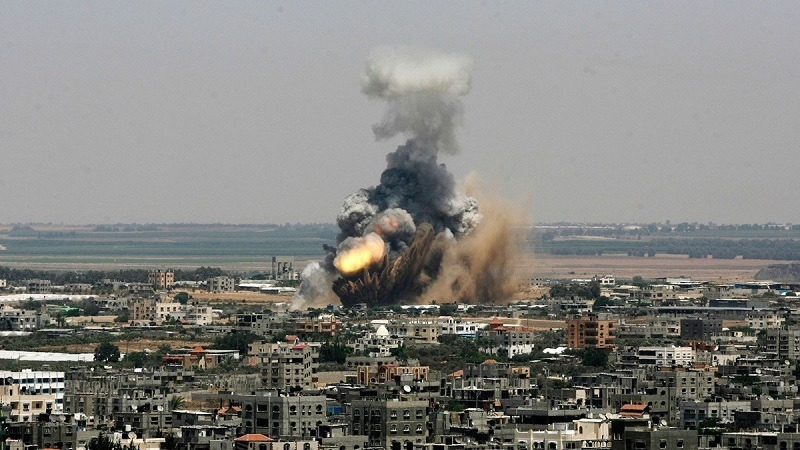 Conflict in Gaza July in Photos