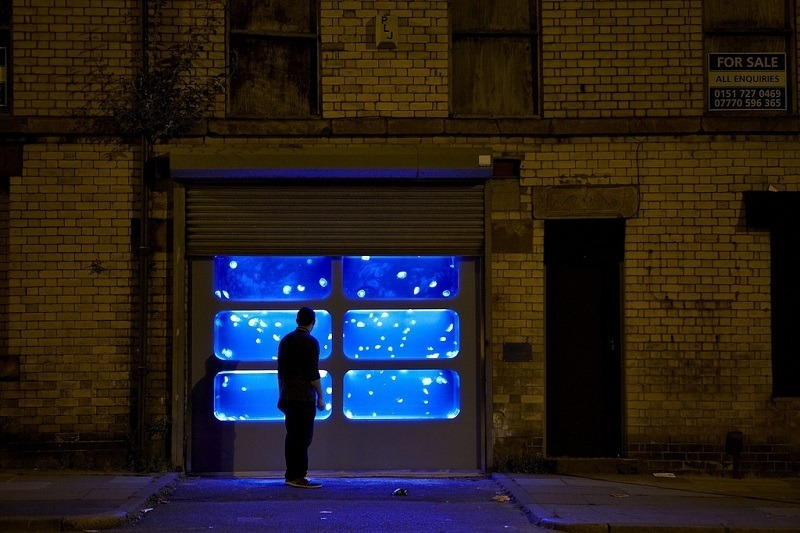 Jellyfish Tank Installed in Liverpool