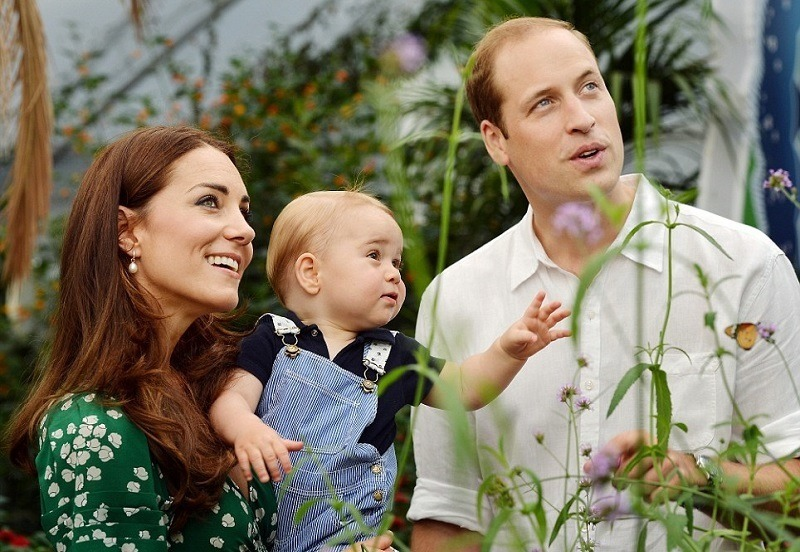 July in Photos Prince George Turns 1