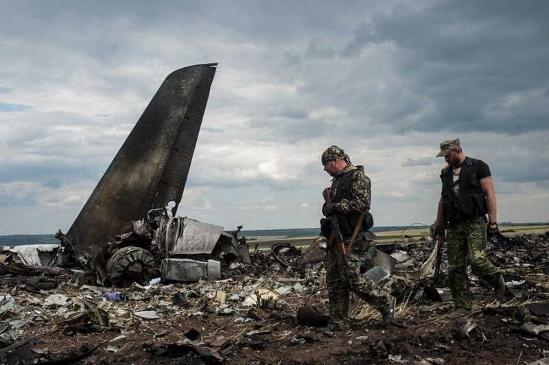 Ukraine Plane Shot Down