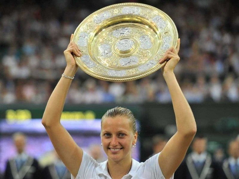 Petra Kvitova Wins Wimbledon in July