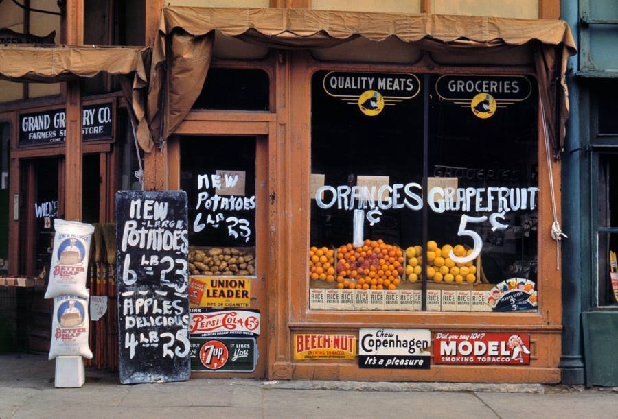 Lincoln Nebraska Grocery 1942