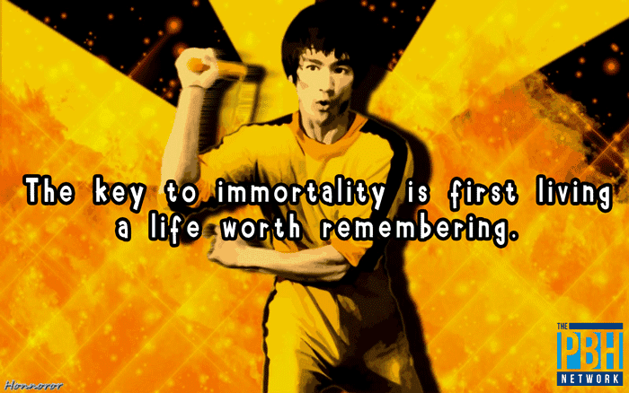 Bruce Lee Quotes Live A Life Worth Remembering