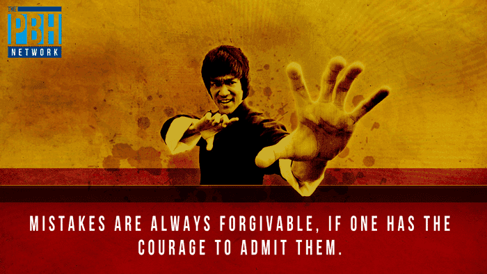 Bruce Lee Quotes Mistakes Are Forgivable