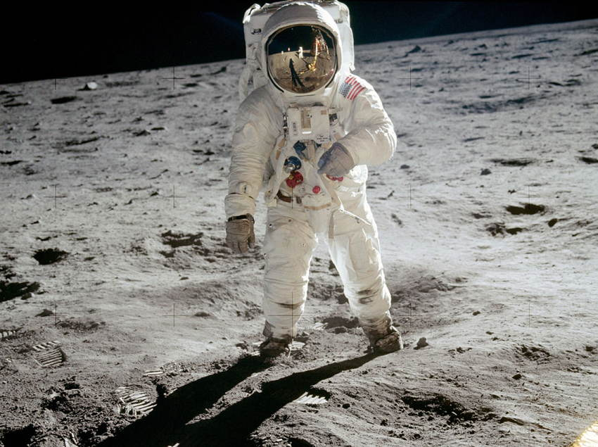 Moon Landing Aldrin