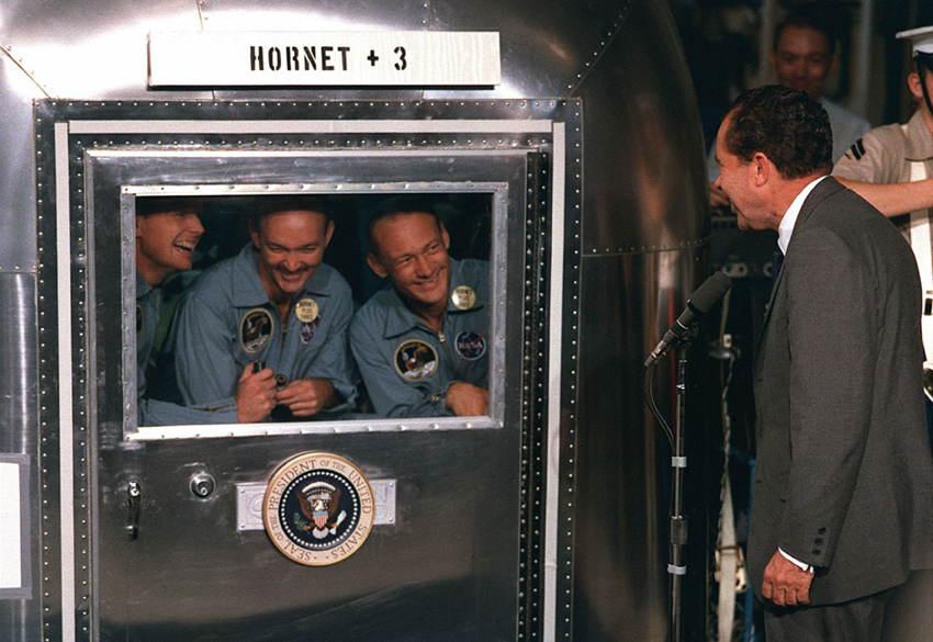Moon Landing Nixon