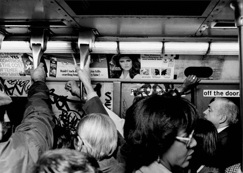 New York City Subways In The 1980s Photographs