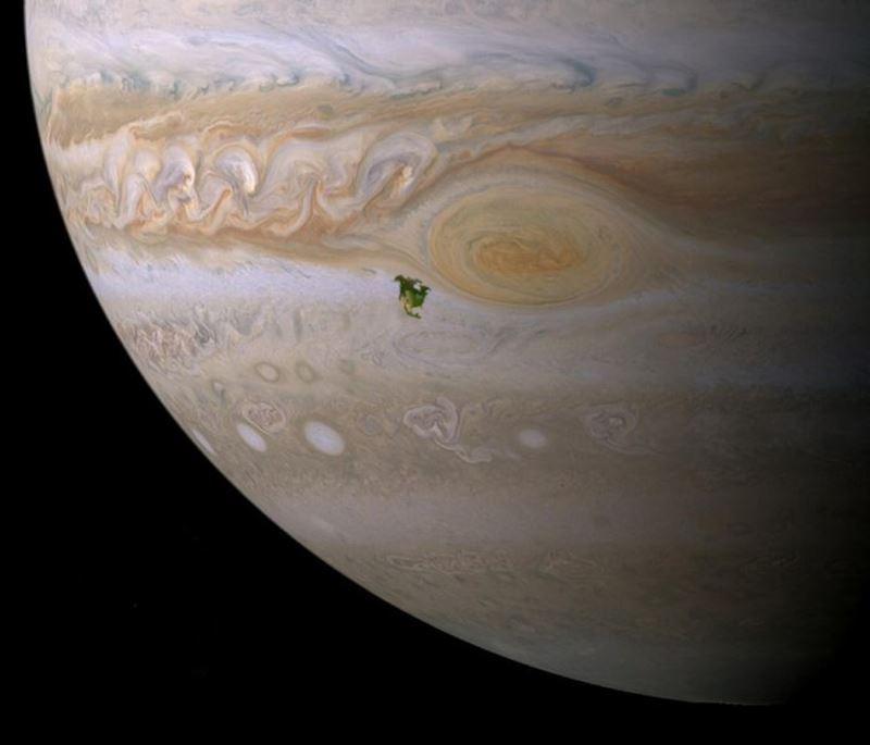 North America V Red Spot Jupiter