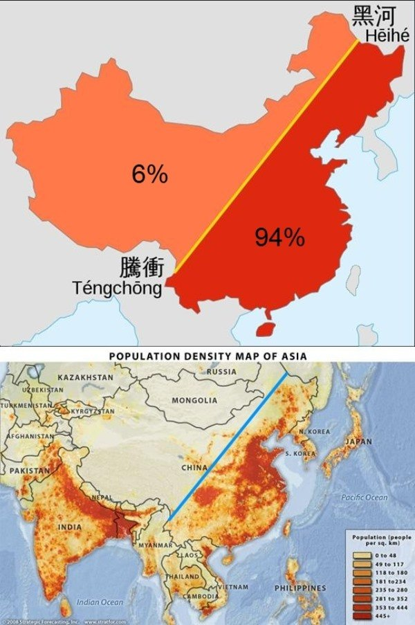 Population Density China