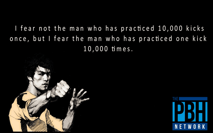 Bruce Lee On Practice