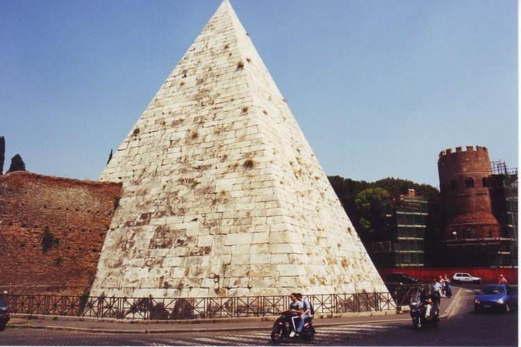 Amazing Pyramids Roman Cestius
