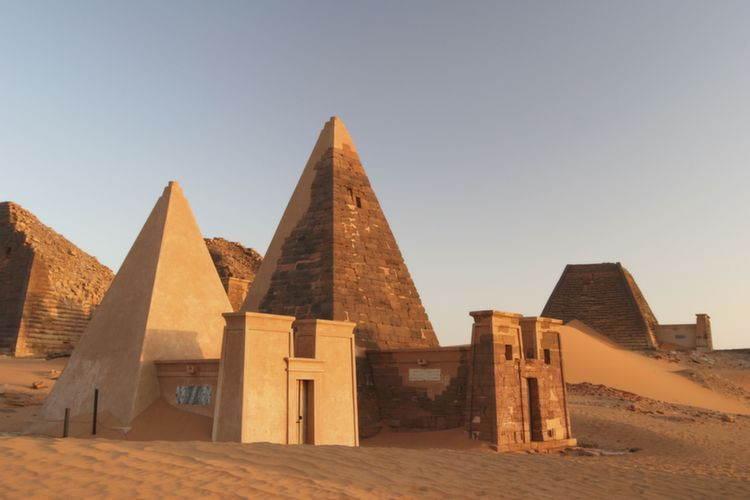 Amazing Pyramids Sudan Meroe