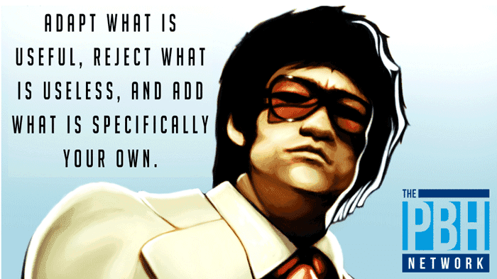 Bruce Lee On Self-Improvement