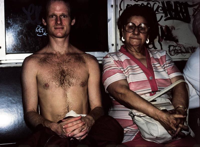 Shirtless Subway Ride