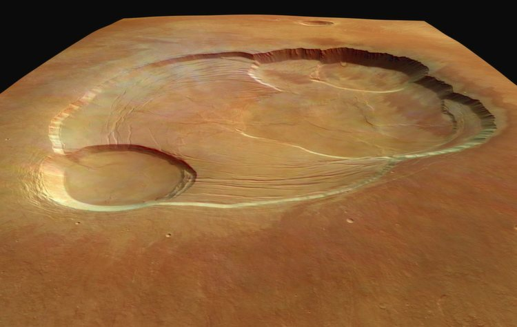 Solar System Crater