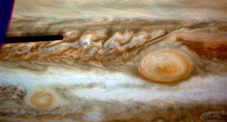 Solar System Spot Oval