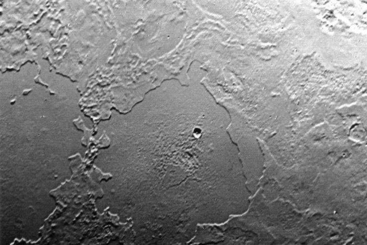 Solar System Volcano Triton
