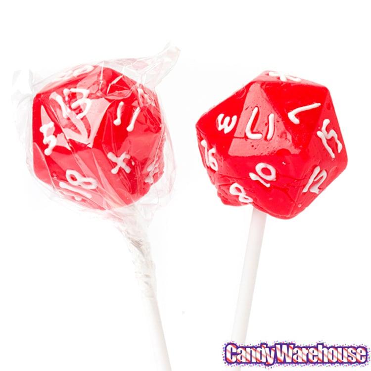 Strange Candies Lollypop Dice