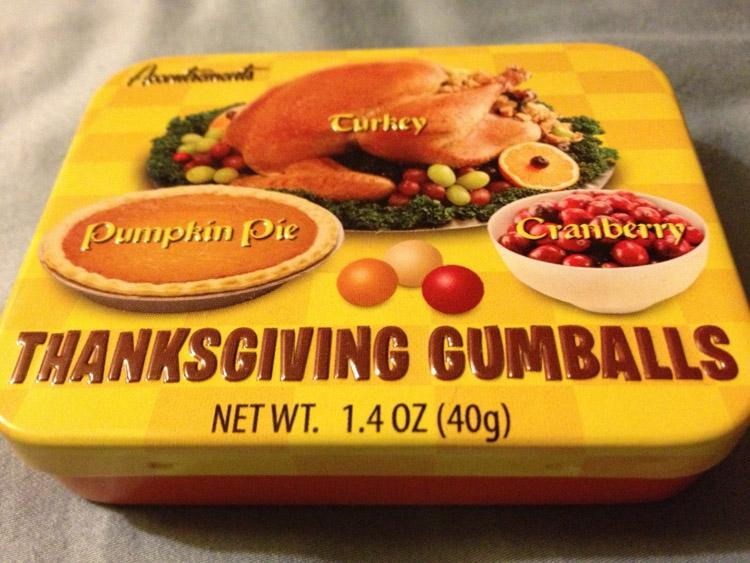 Strange Candies Thanksgiving