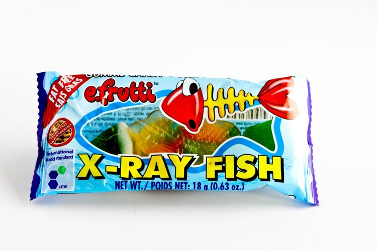 Strange Candies X Ray Fish