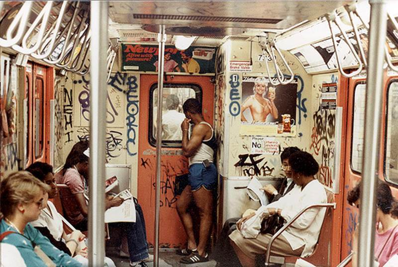Subway Cars In The 1980s
