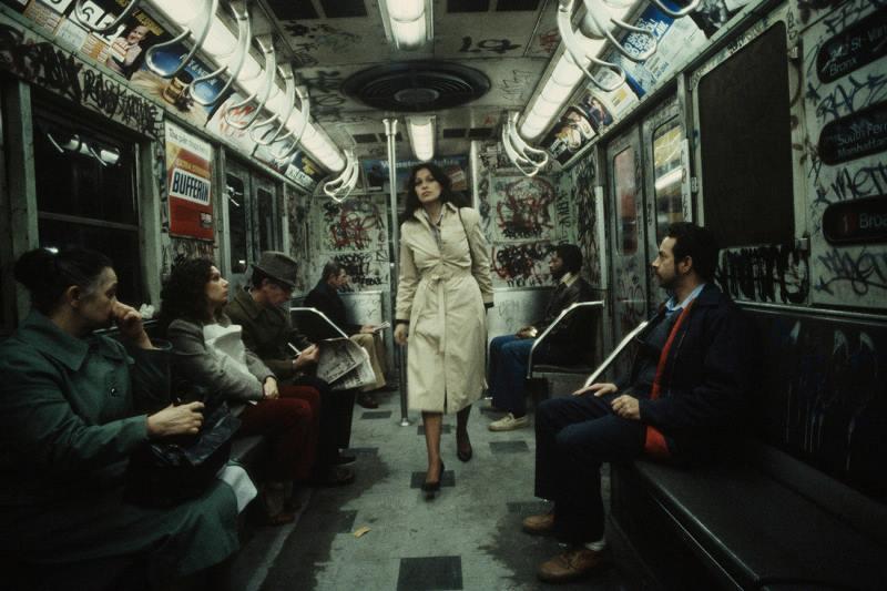 Walking Through A Subway Car