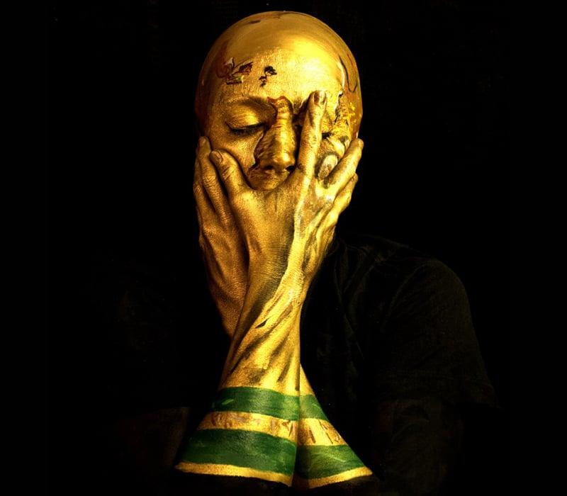 Golden World Cup Selfie