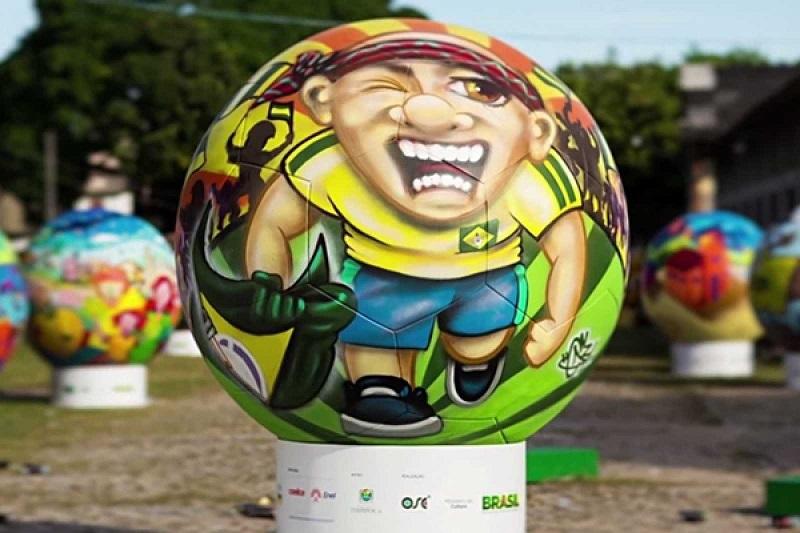 Grassroots World Cup Art