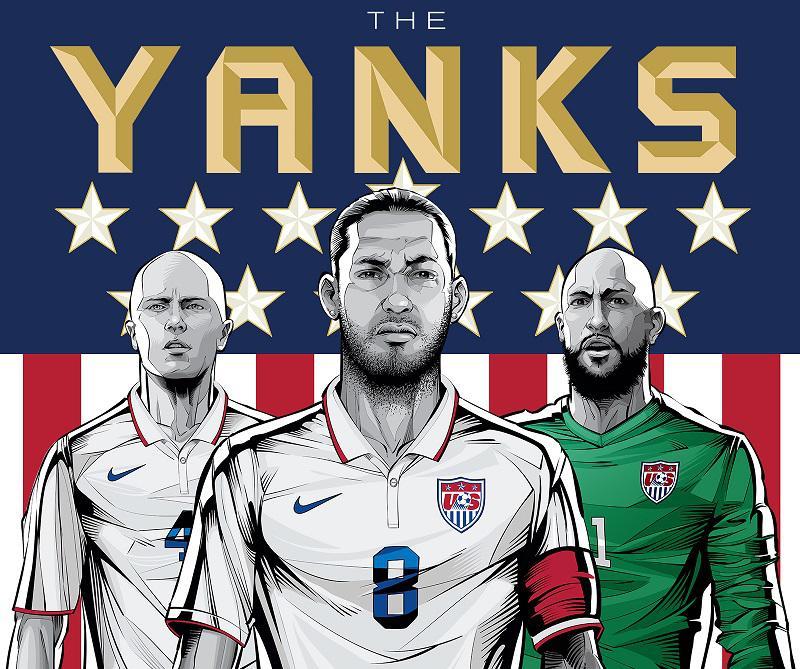 ESPN World Cup Art Poster