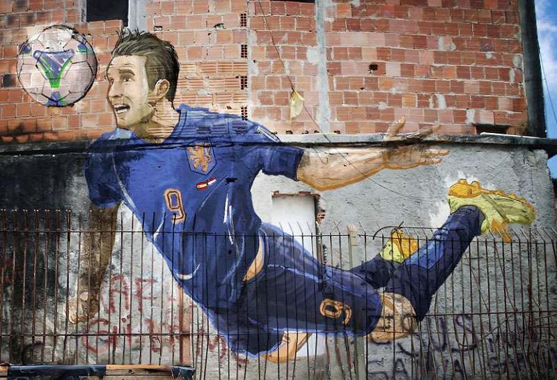 World Cup Art in Brazilian Streets