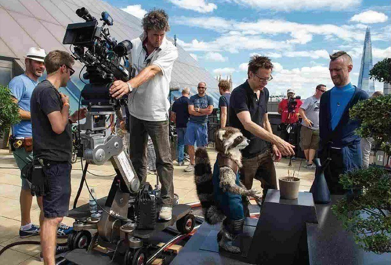 Guardians of the Galaxy Behind the Scenes