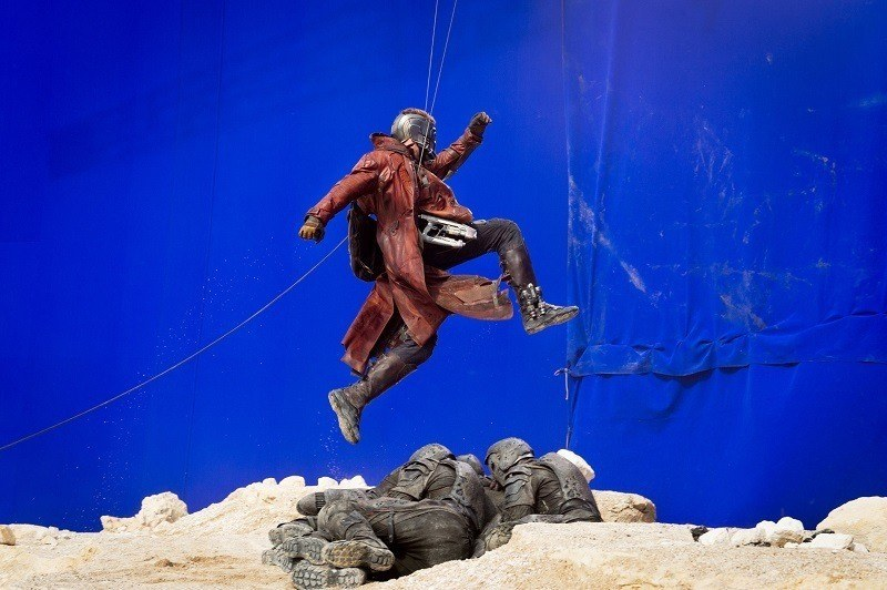 Stills from Guardians of the Galaxy