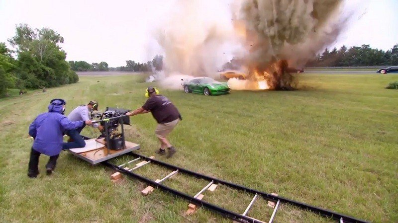 Behind the Scenes at Transformers 4