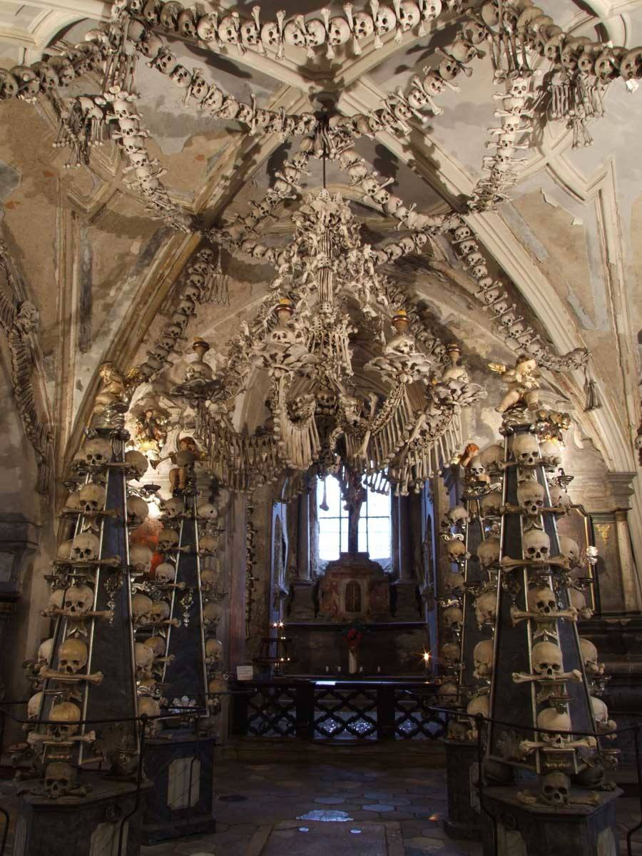 Bone Church Chapel Interior
