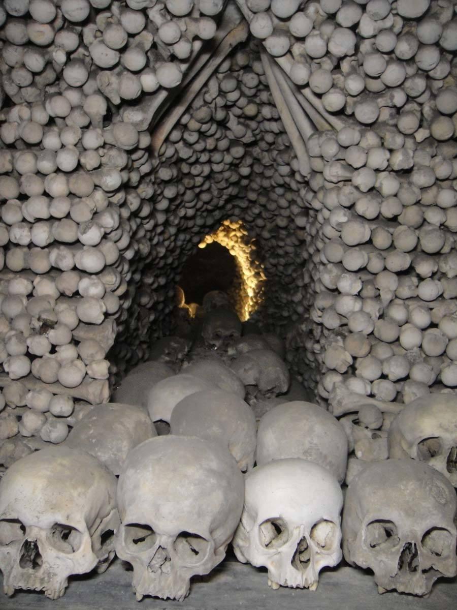 Bone Church Skull Tunnel