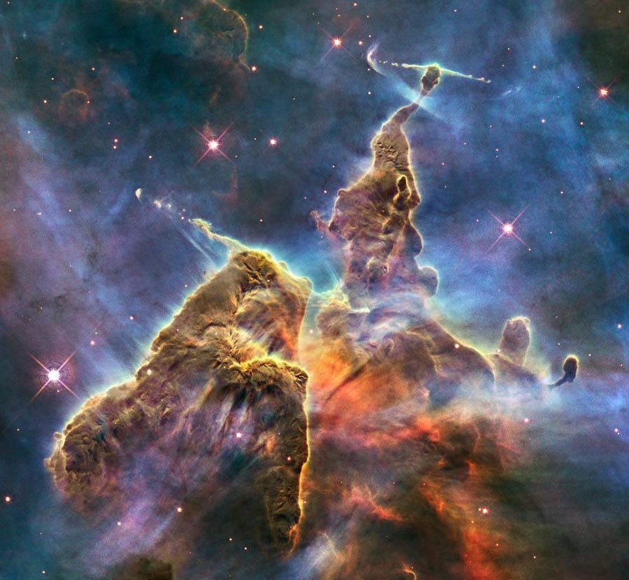Hubble Flickr Carina Nebula